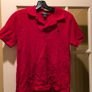 Boys Short Sleeve Polo Shirt